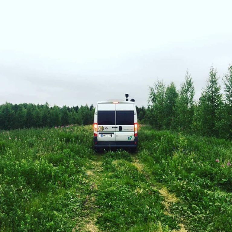 Luonnon keskellä