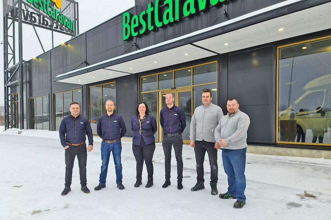 Best-Caravan Seinäjoella karavaanarit saavat palvelua 24/7.