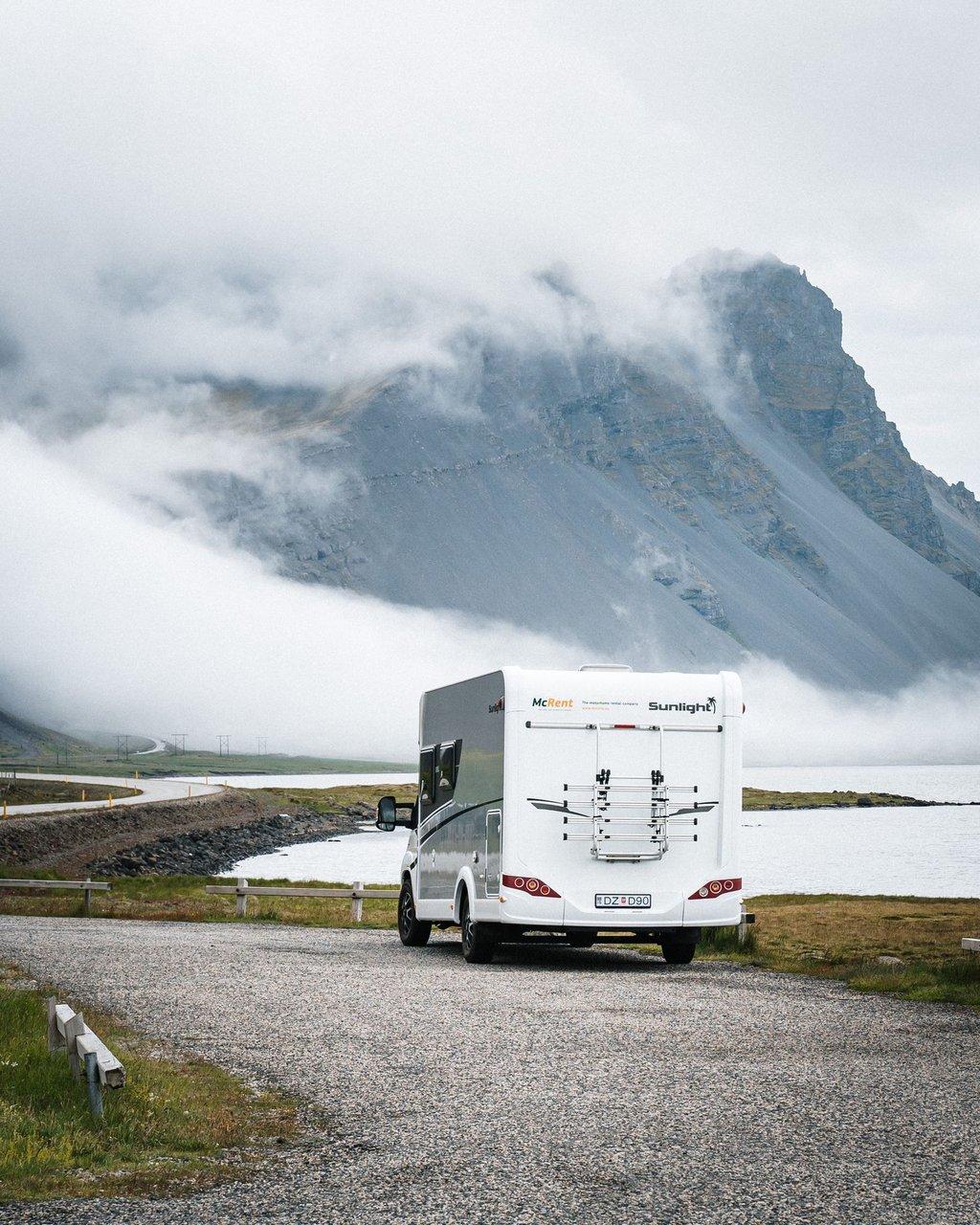 McRent vuokrattavan matkailuauton voi vuokrata myös ulkomailta.