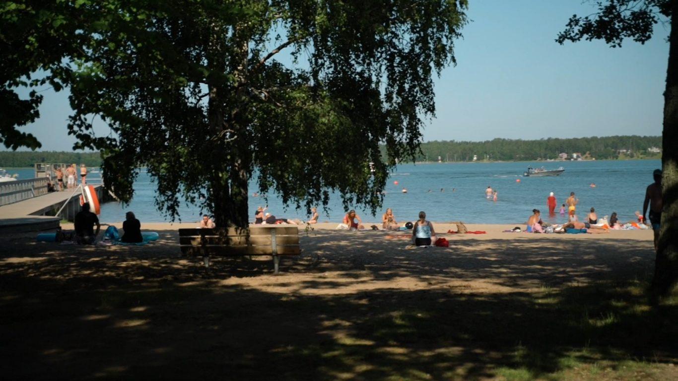 Lilla Holmenin uimaranta