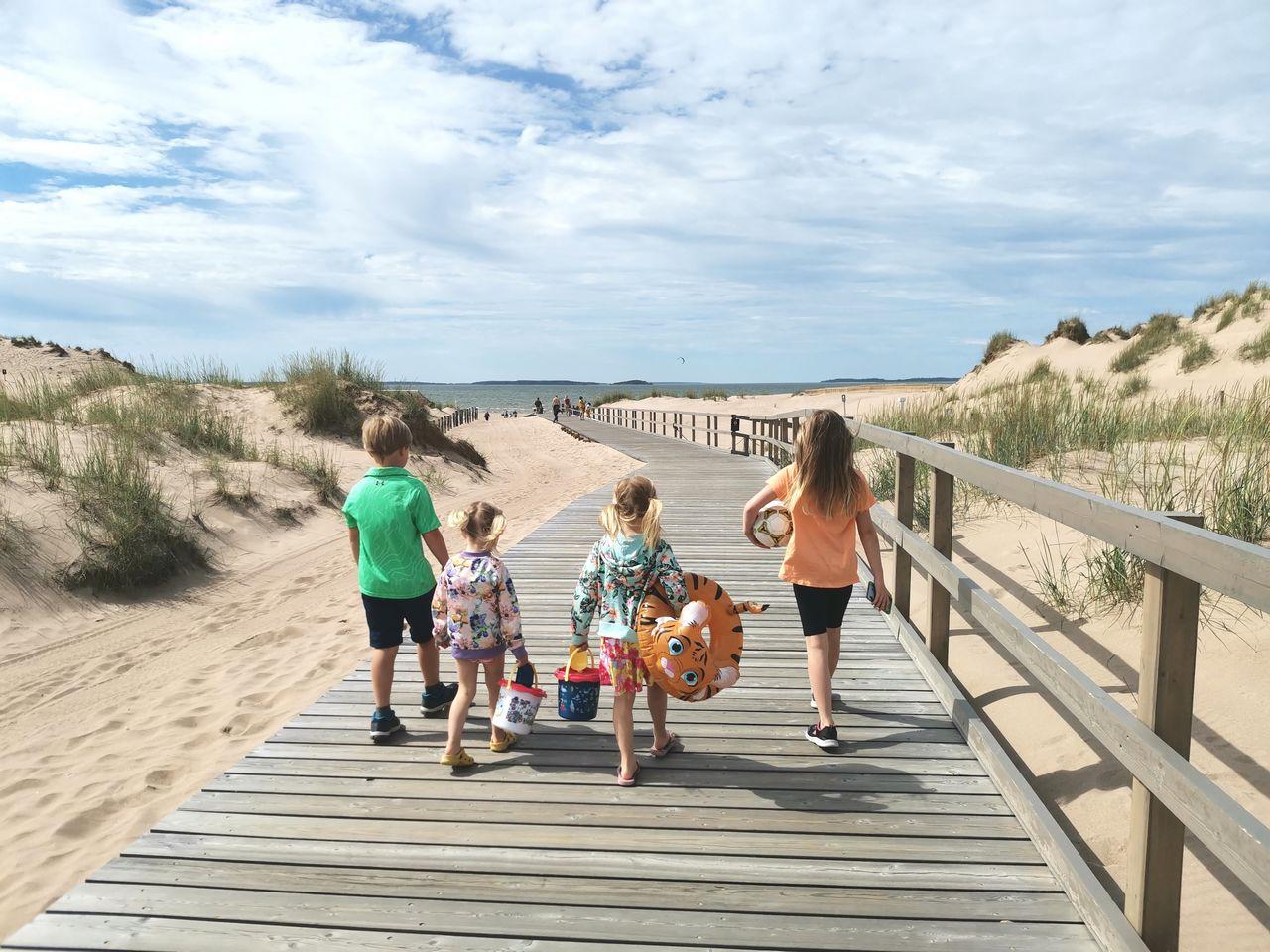 Matkakohteet lapsiperheille -listaukselle kuuluu Yyterin hiekkaranta.